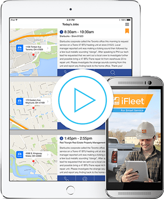 mobile app for field service