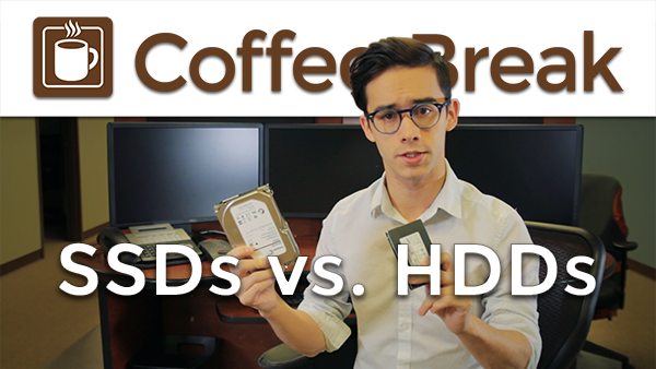SSDs vs HDDs